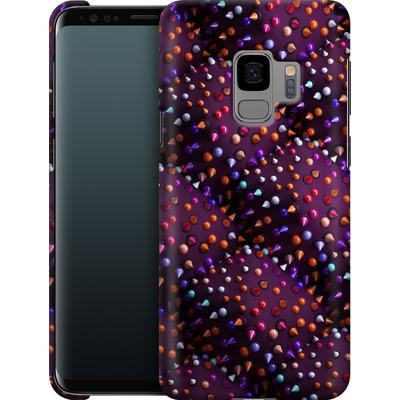 Samsung Galaxy S9 Smartphone Huelle - Spike Pattern von Danny Ivan