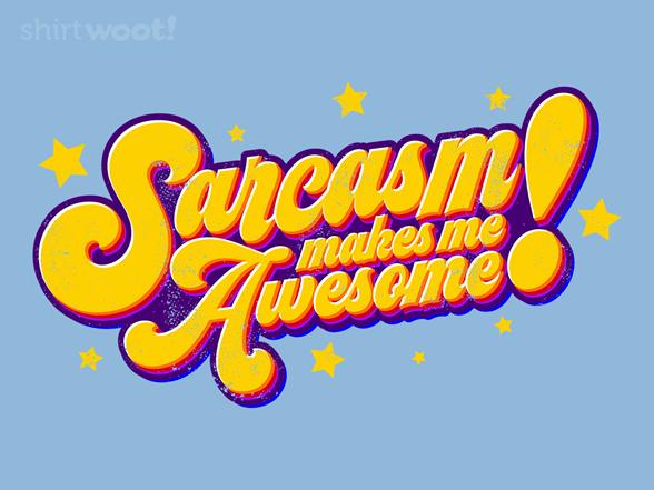 Seventies Sarcasm T Shirt