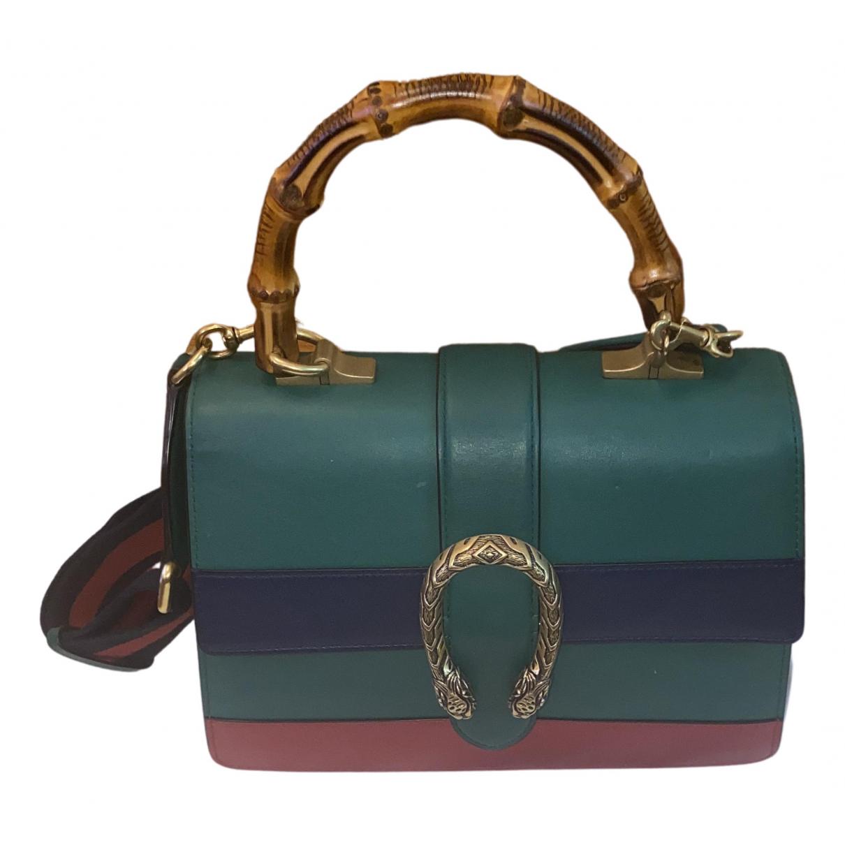 Gucci Dionysus Handtasche in  Gruen Leder