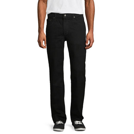 Arizona Flex Relaxed-Fit Jeans, 40 32, Black