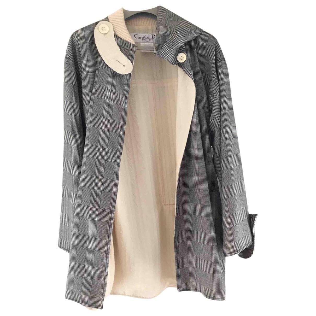 Dior \N Grey coat for Women 38 FR