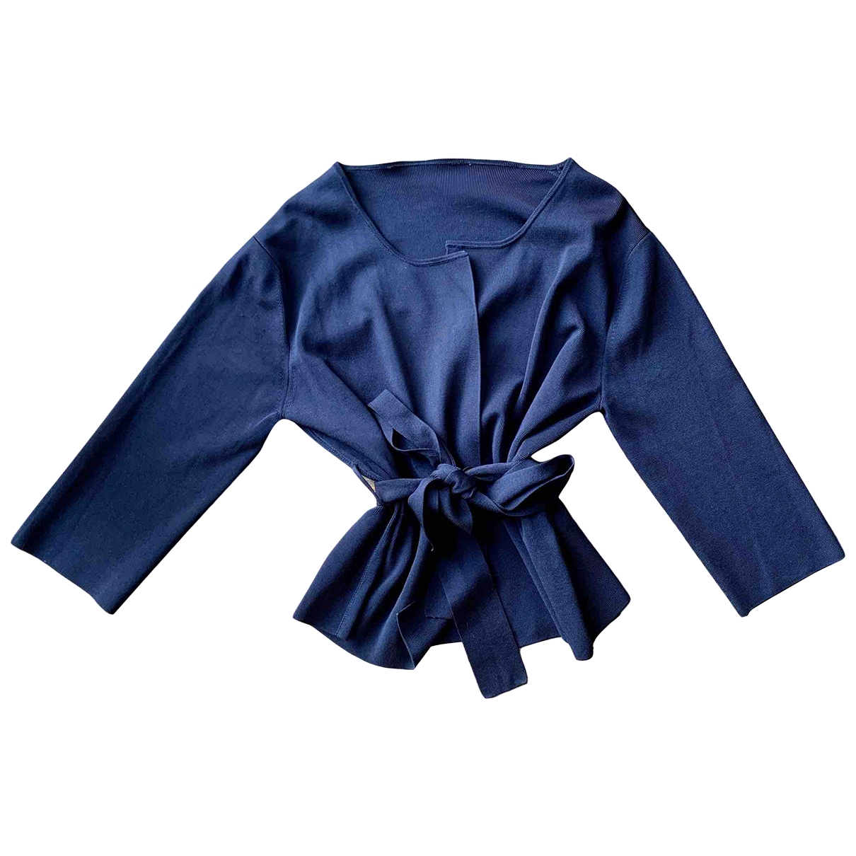 Non Signe / Unsigned \N Jacke in  Blau Polyester