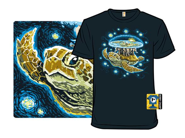 Endless Starry Night T Shirt
