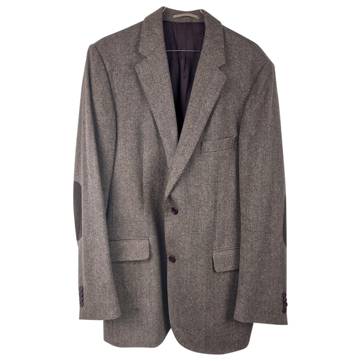 Burberry \N Grey Wool jacket  for Men L International