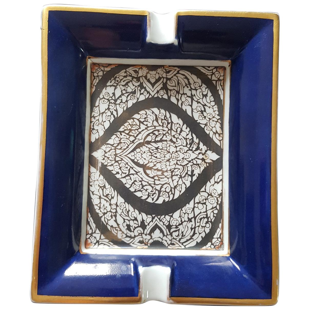 Hermes \N Accessoires und Dekoration in  Blau Porzellan