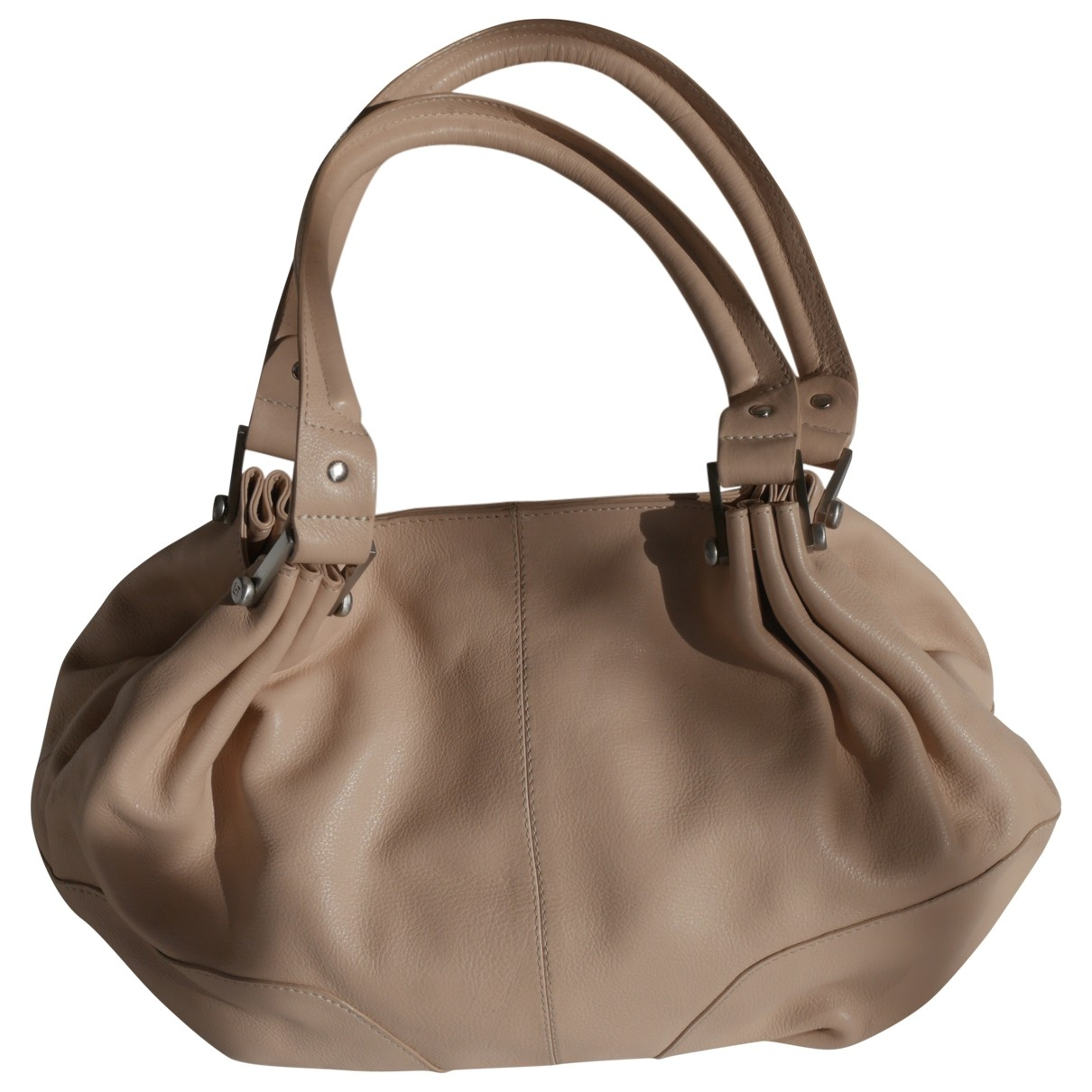 Le Tanneur \N Beige Leather handbag for Women \N