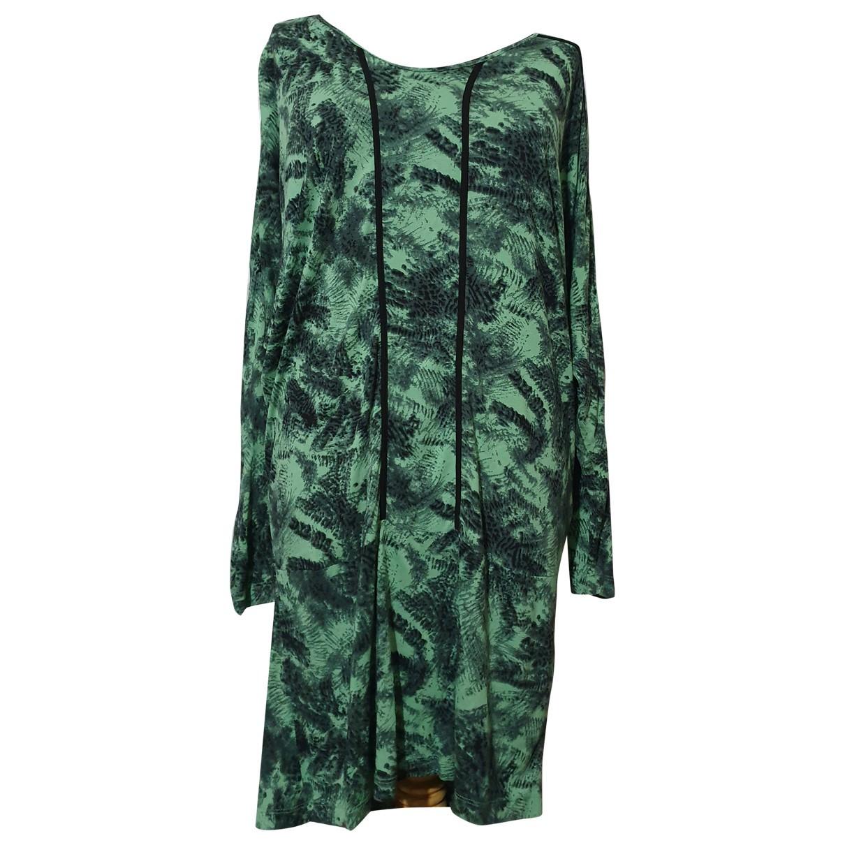 Baum Und Pferdgarten \N Kleid in  Gruen Viskose