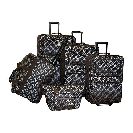 American Flyer Pemberly Buckles 5-pc. Luggage Set, One Size , Blue