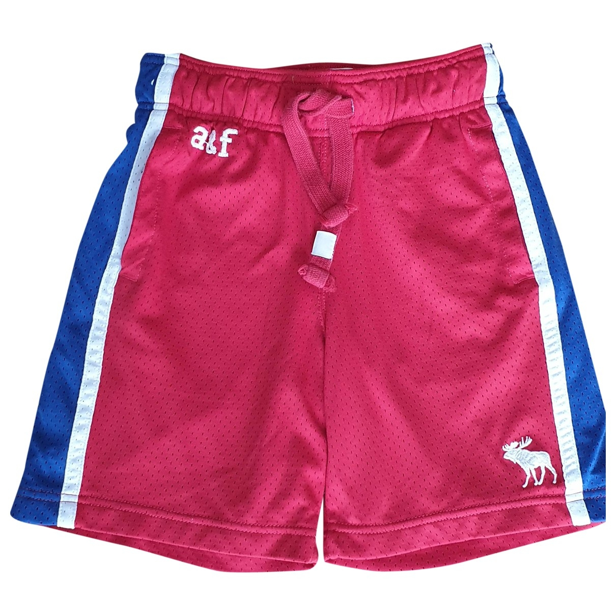 Abercrombie & Fitch \N Shorts in  Rot Polyester