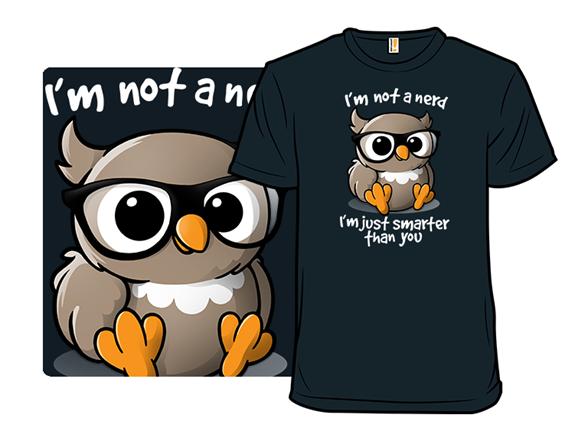 Nerd Owl T Shirt