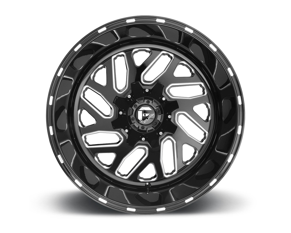 Fuel D581 Triton Black & Milled 1-Piece Cast Wheel 20x9 5x139.7|5x150 01mm