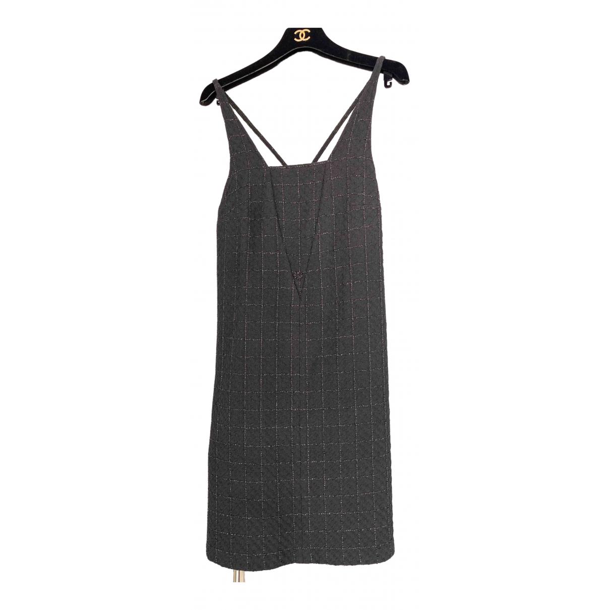 Chanel \N Black Cotton dress for Women 36 FR