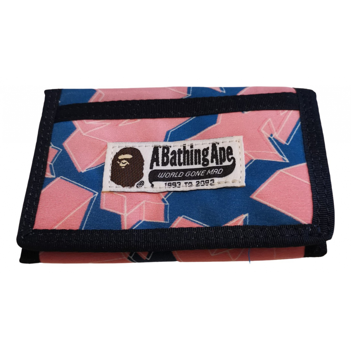 A Bathing Ape - Portefeuille   pour femme en toile - multicolore