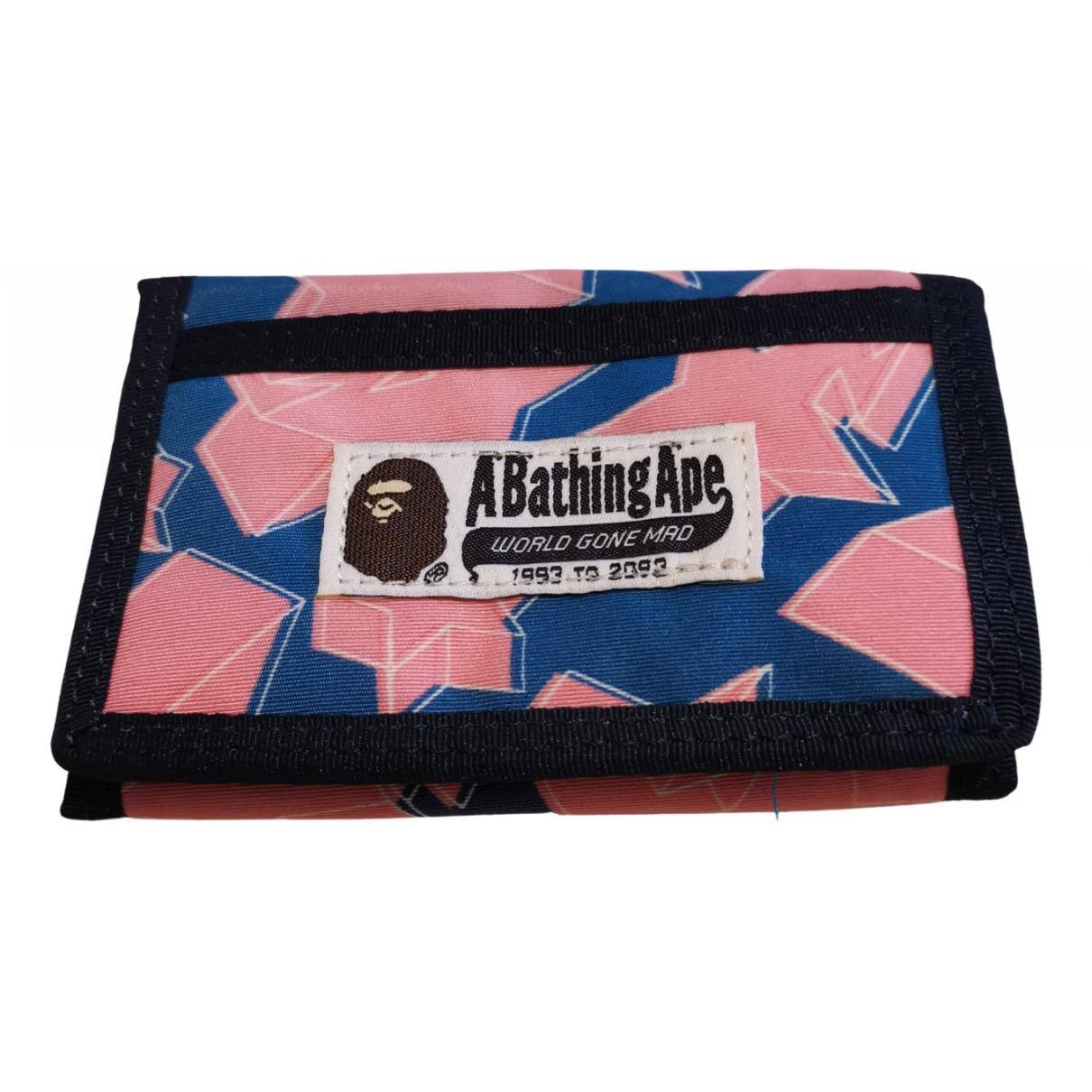 A Bathing Ape N Multicolour Cloth wallet for Women N