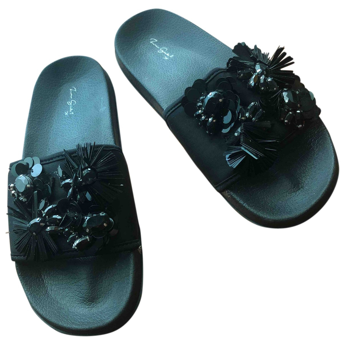 Zara - Chaussons   pour enfant en caoutchouc - noir