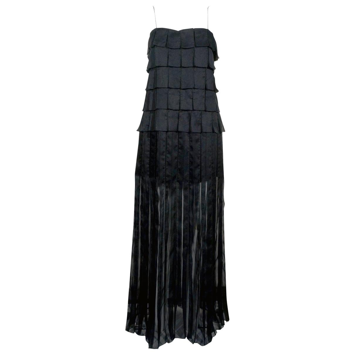 Marc Jacobs \N Black Silk dress for Women 6 US