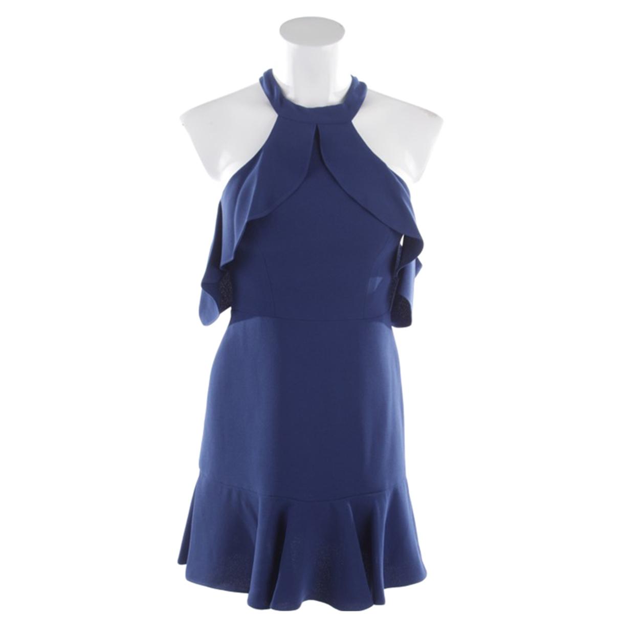 Bcbg Max Azria \N Kleid in  Blau Polyester