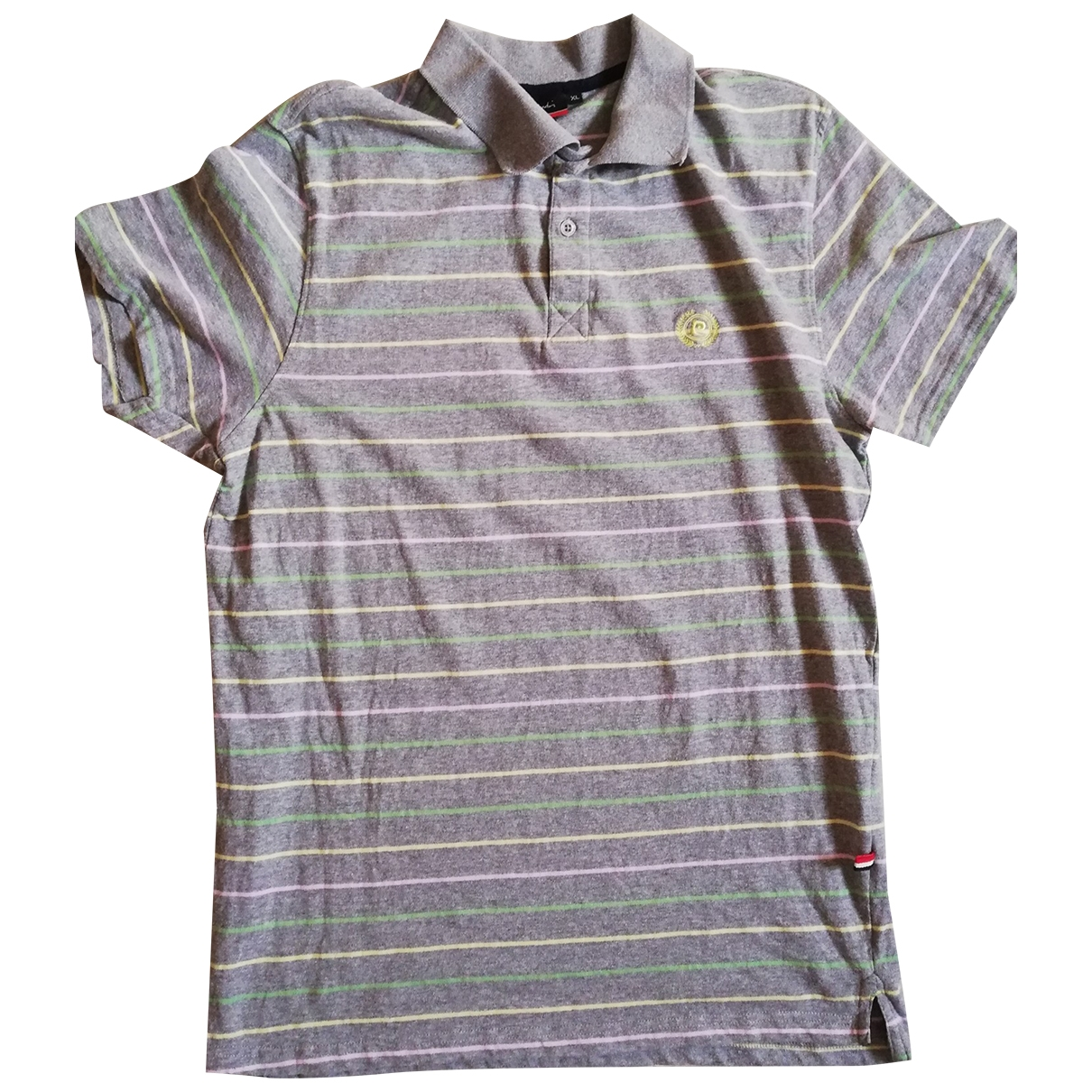 Pierre Cardin \N Poloshirts in  Grau Baumwolle