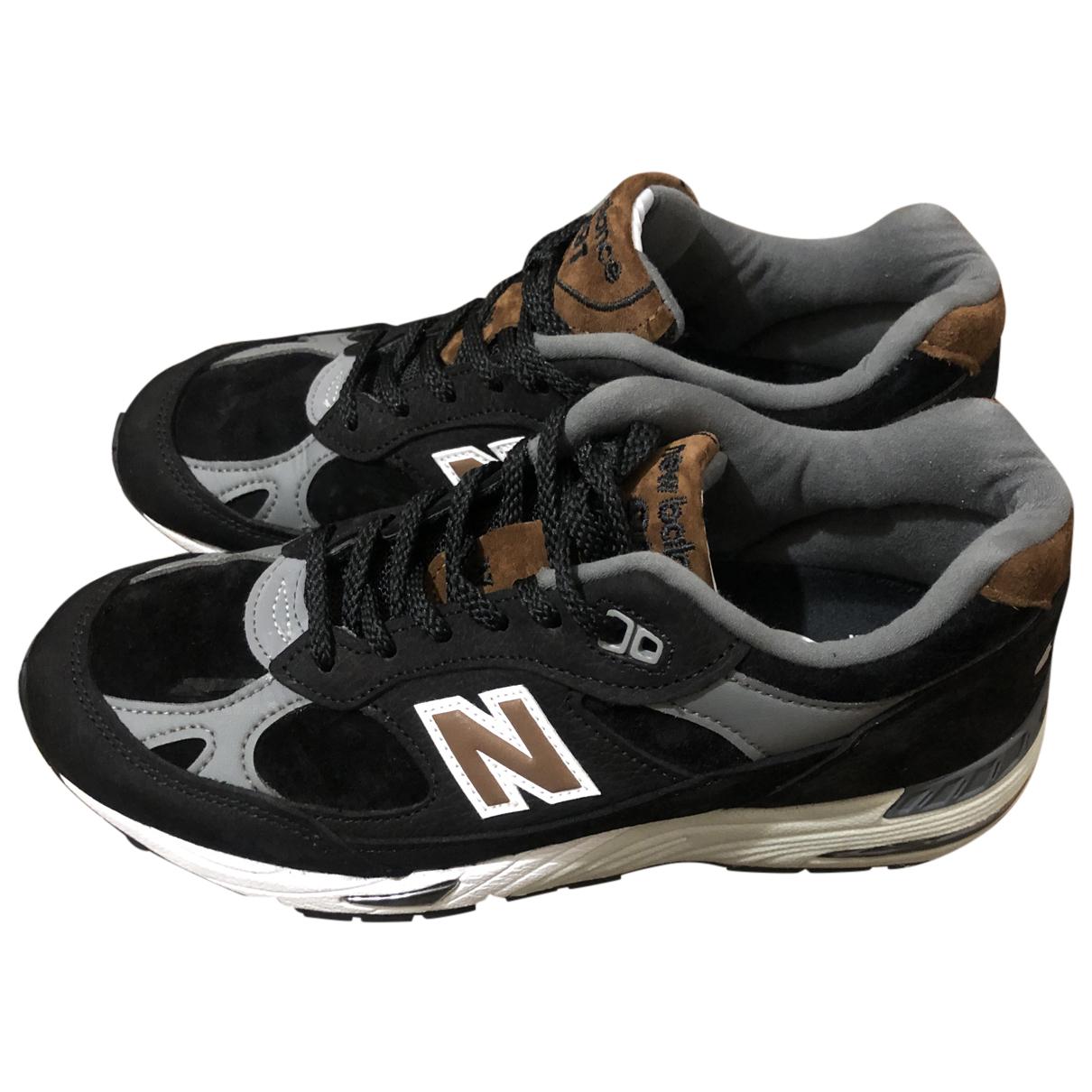 New Balance \N Sneakers in  Schwarz Veloursleder