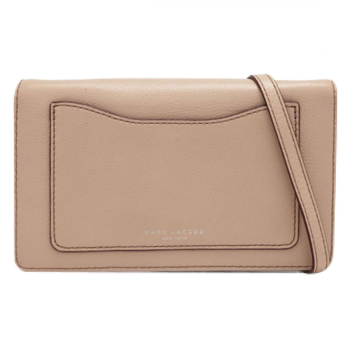 Marc Jacobs \N Beige Leather Clutch bag for Women \N