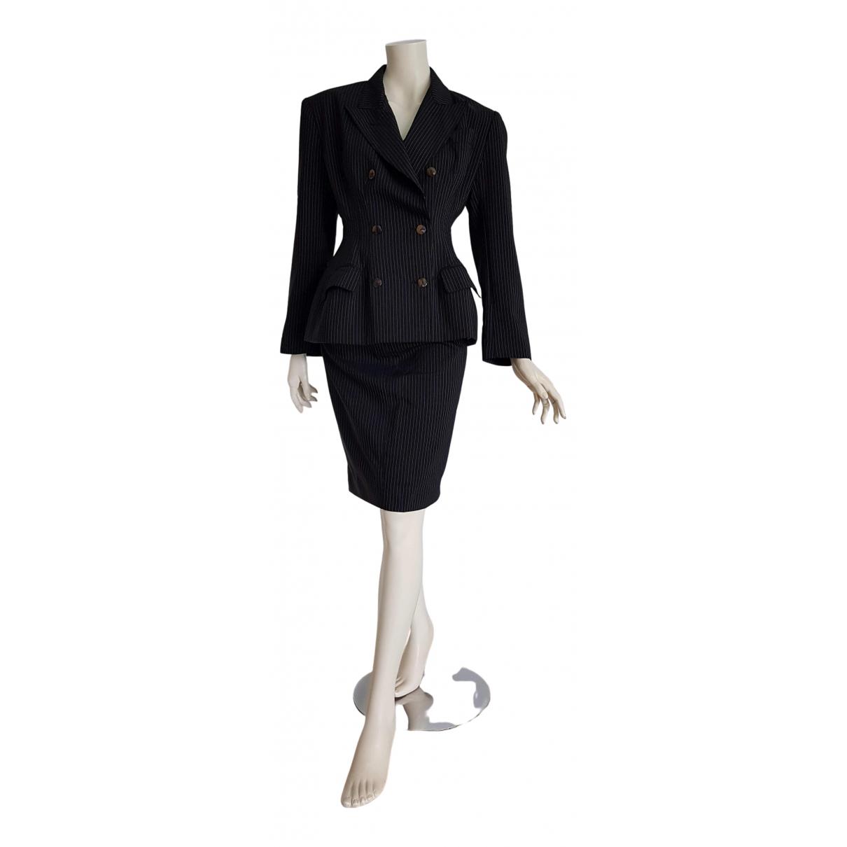 Jean Paul Gaultier - Veste   pour femme en soie - noir