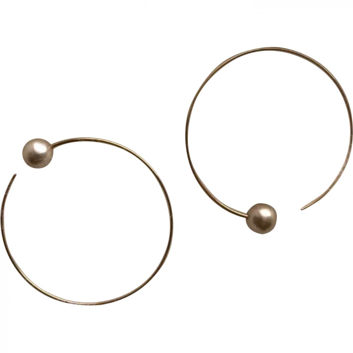 Celine Dot OhrRing in  Gold Perle