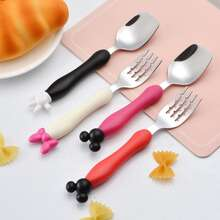 1set Cartoon Fork & Spoon