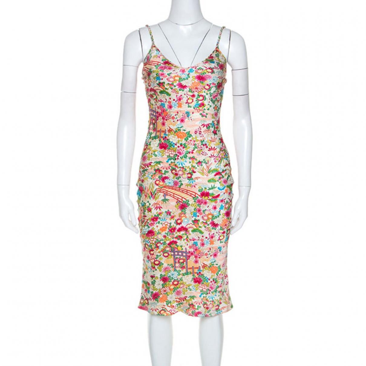 Christian Dior \N Kleid in Seide