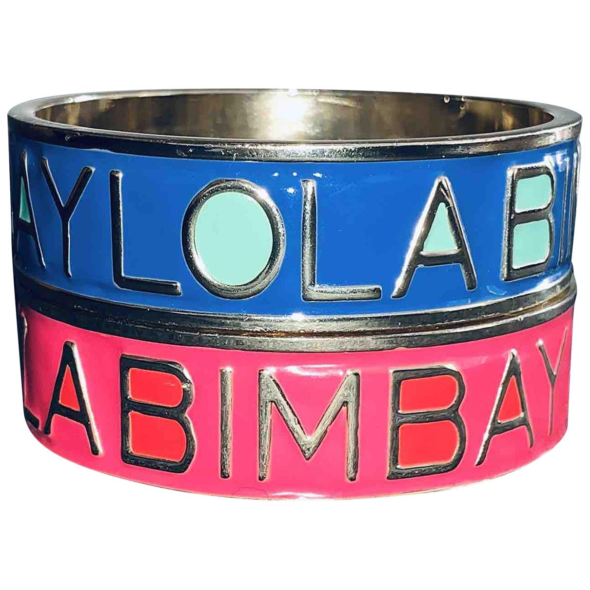 Bimba Y Lola \N Schmuck-set in  Blau Stahl