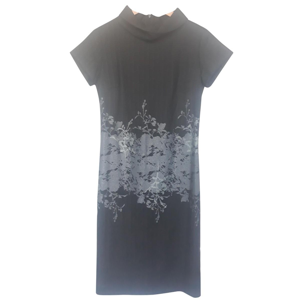 Agnès B. \N Black Wool dress for Women 38 FR