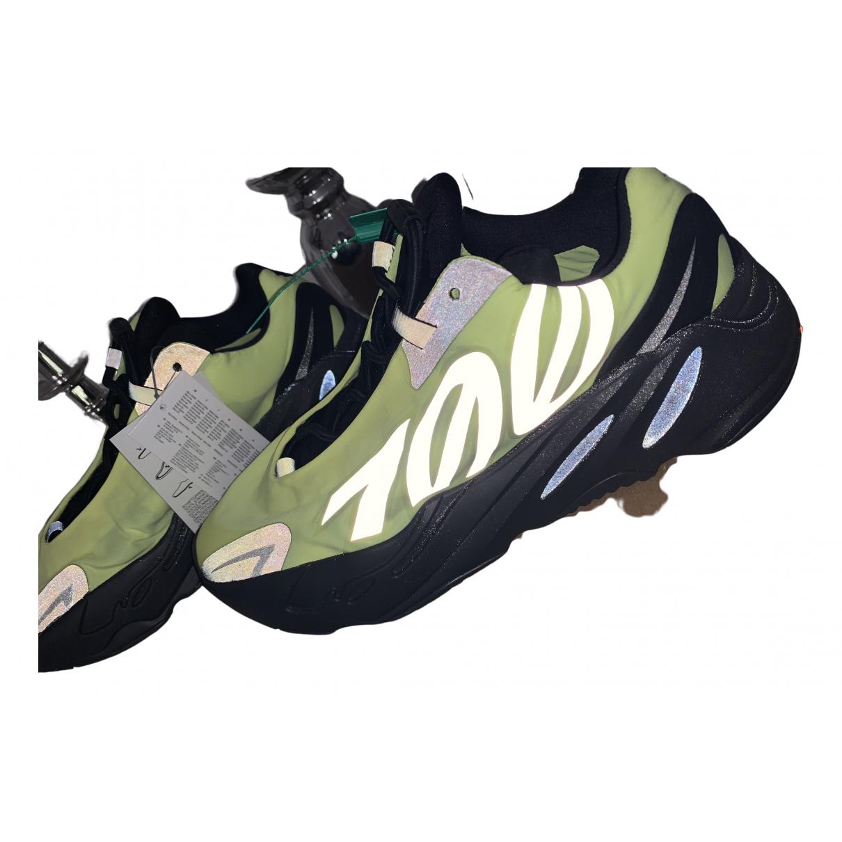 Yeezy X Adidas - Baskets 700 MNVN PHOSPHOR pour homme en toile - jaune
