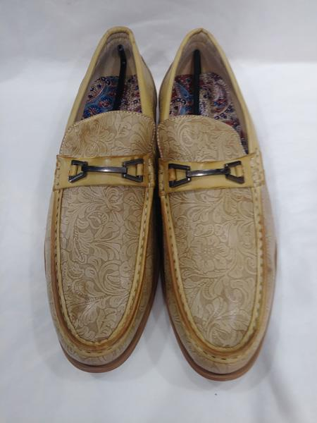 Mens Casual Slip-On Loafer Fashionable Scotch Shoes