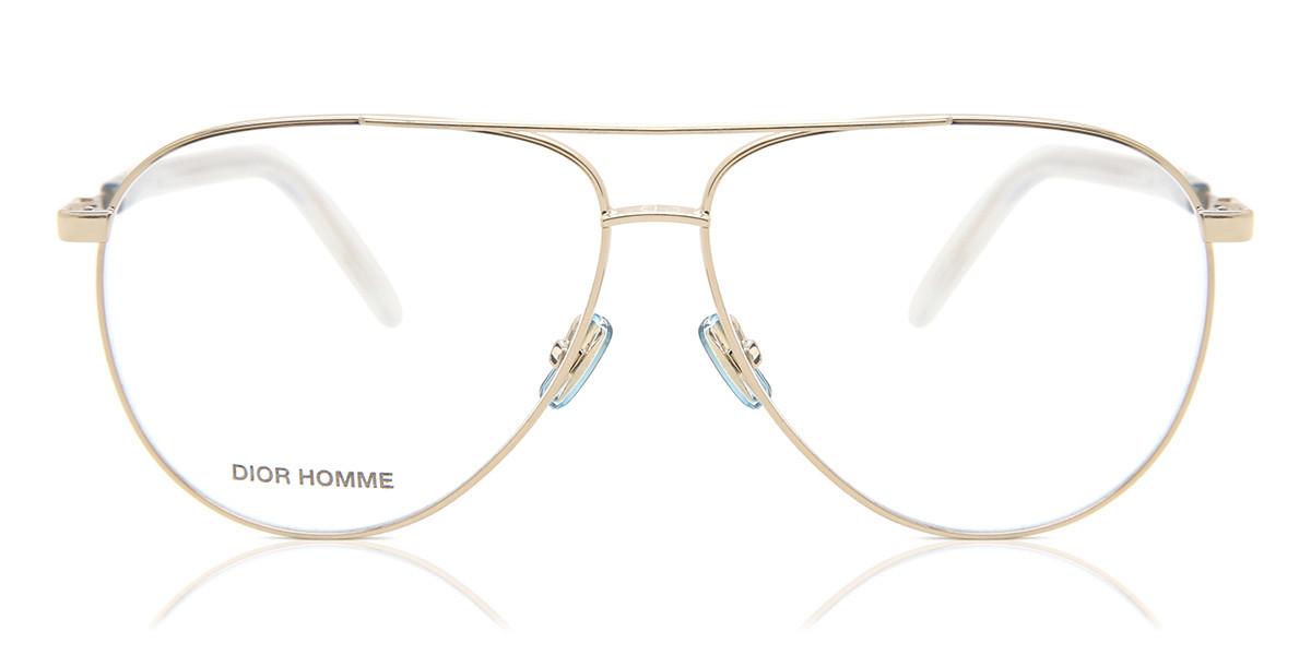 Dior TECHNICITY O5 J5G Mens Glasses Gold Size 58 - Free Lenses - HSA/FSA Insurance - Blue Light Block Available