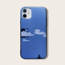 iPhone Huelle mit Wolke Muster