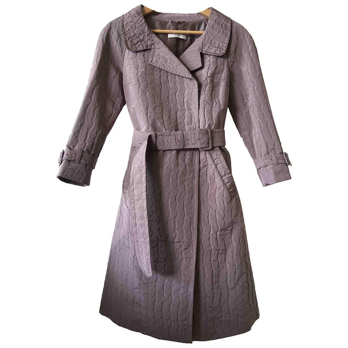 Prada \N Pink coat for Women 38 IT
