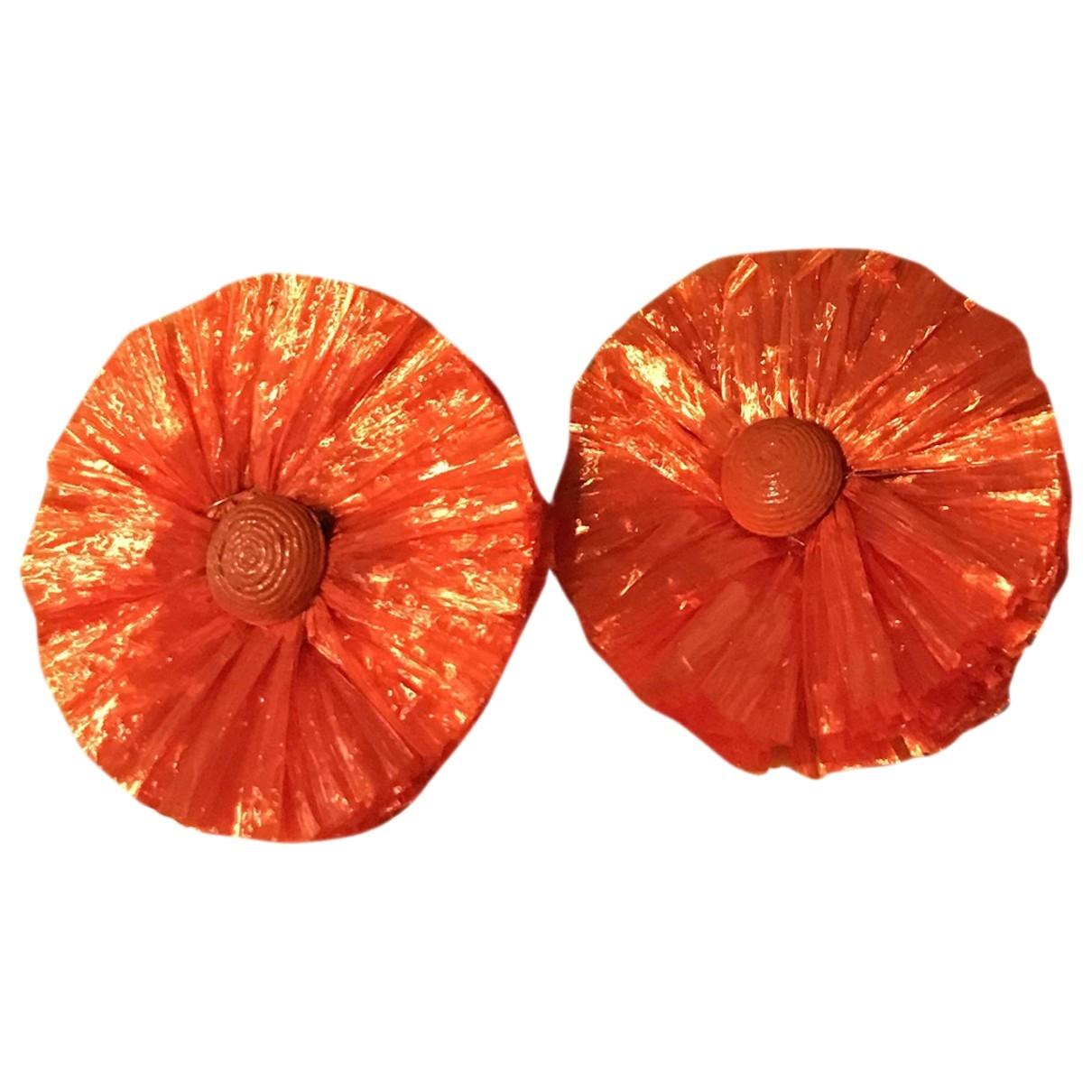 Blumarine - Boucles doreilles   pour femme en metal - orange