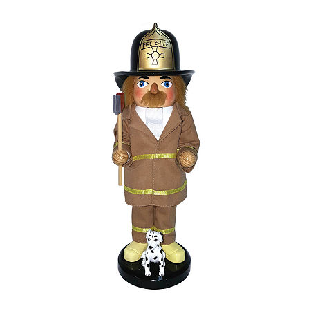 Hand Painted Christmas Nutcracker, One Size , Brown