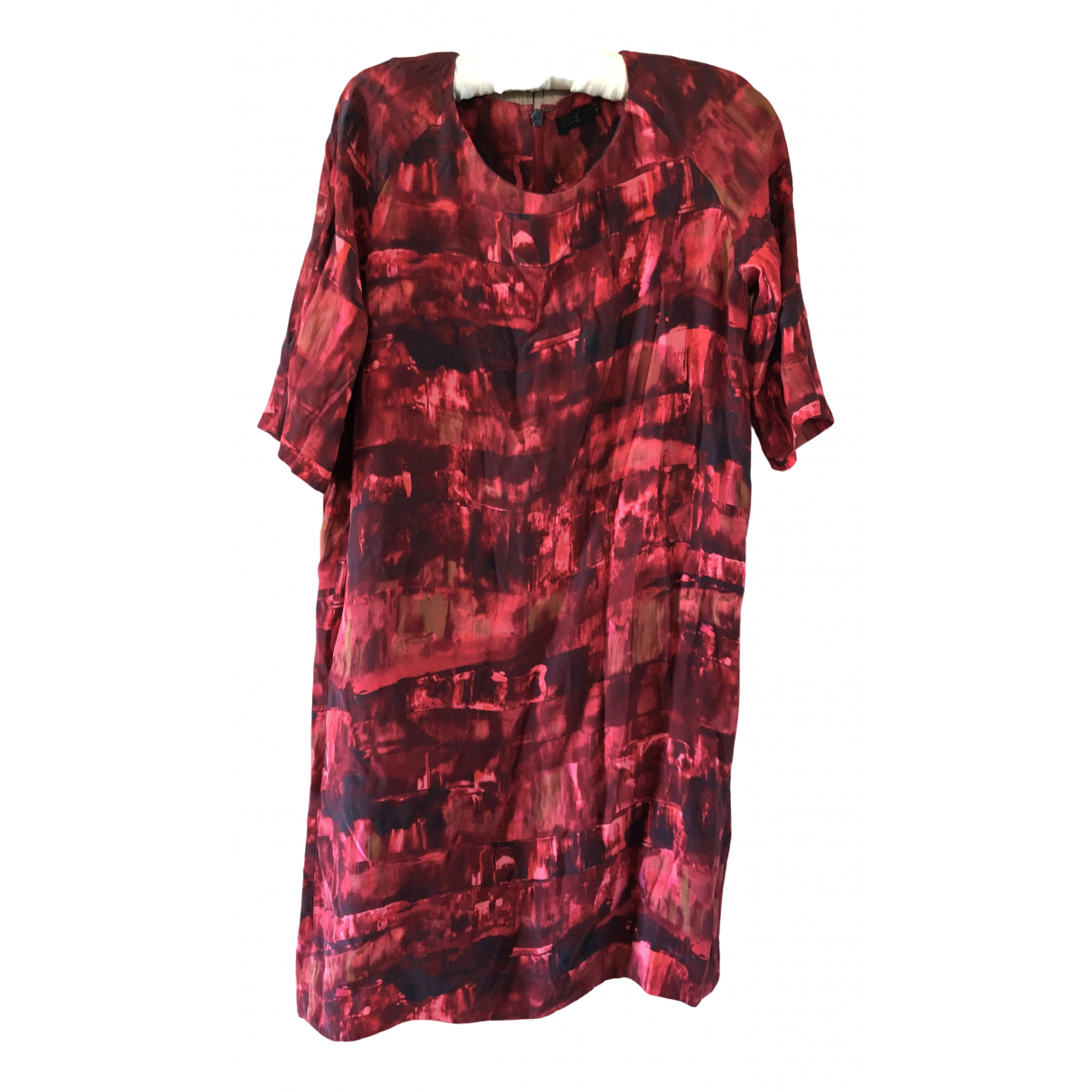 Cos \N Kleid in  Rot Seide