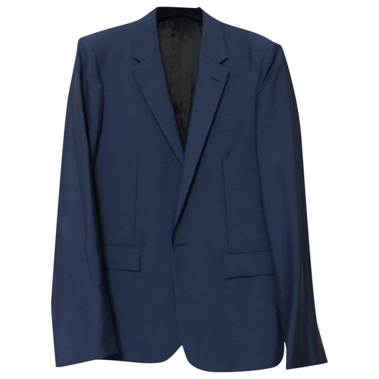 Balenciaga - Vestes.Blousons   pour homme en lin - bleu