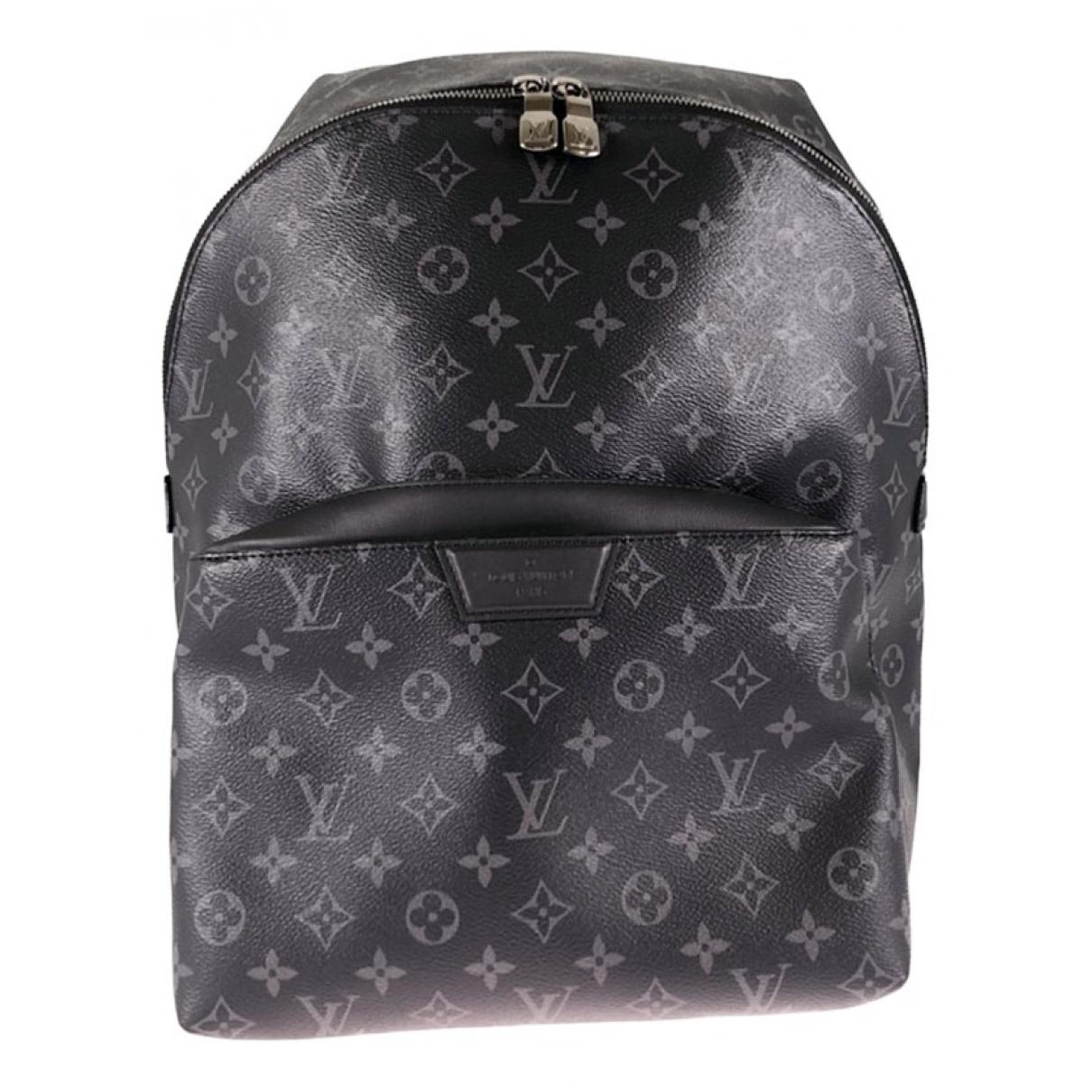 Louis Vuitton Apollo Backpack Grey Cloth bag for Men \N