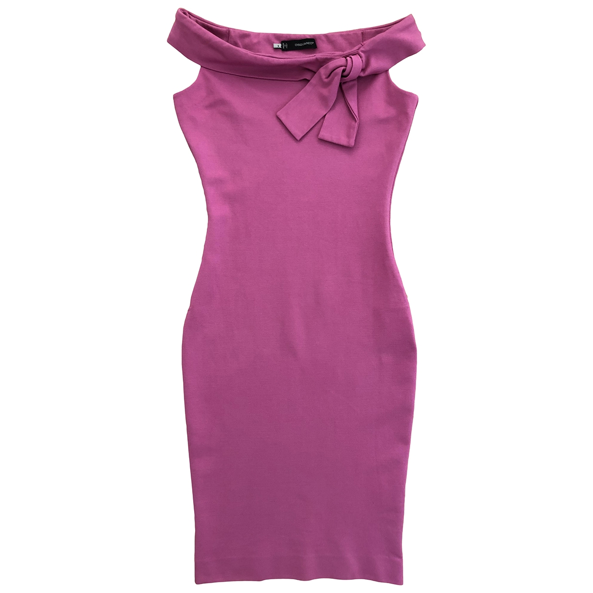 Dsquared2 \N Kleid in  Rosa Polyester