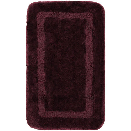Mohawk Home Facet Bath Rug Collection, One Size , Purple