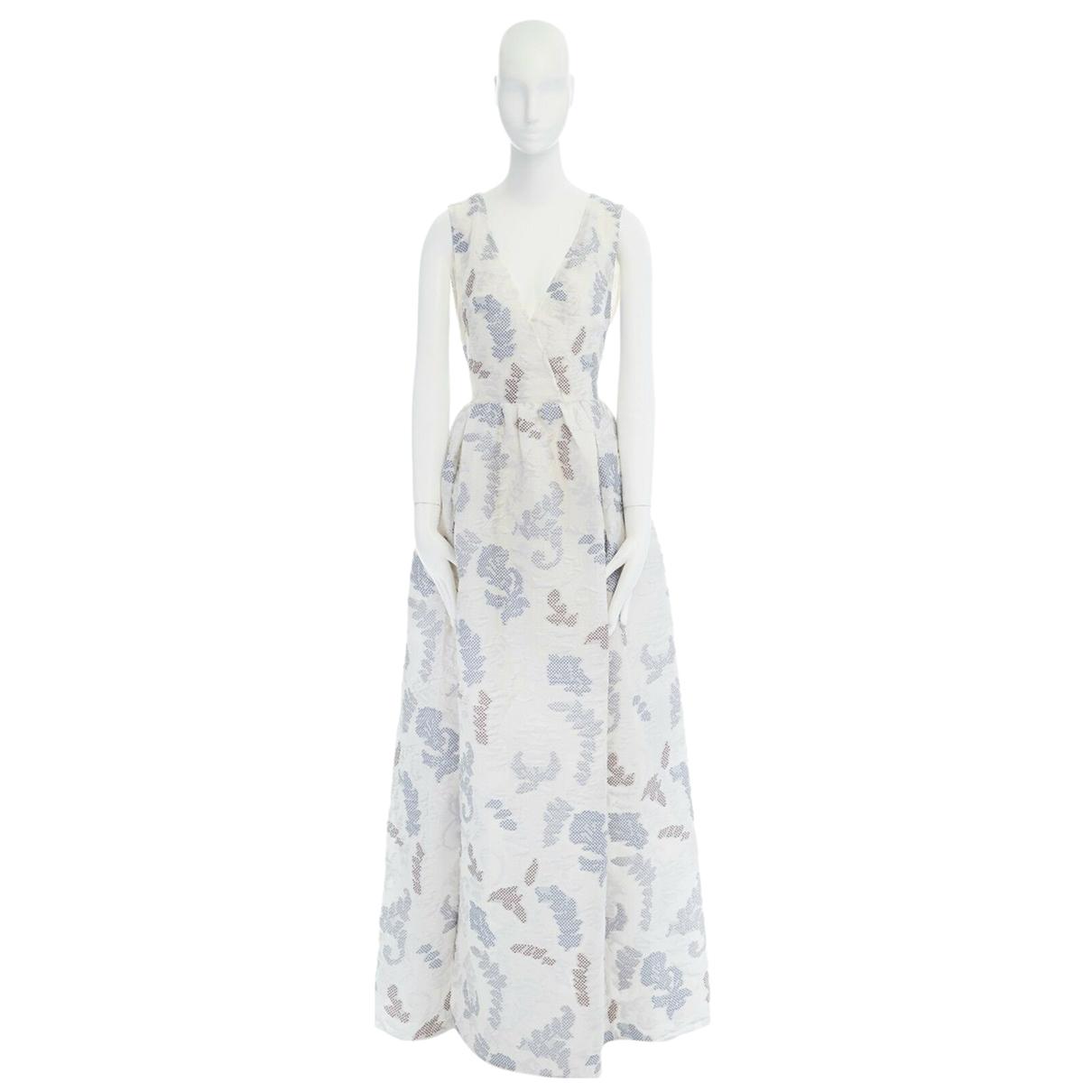 Tory Burch - Robe   pour femme en laine - bleu