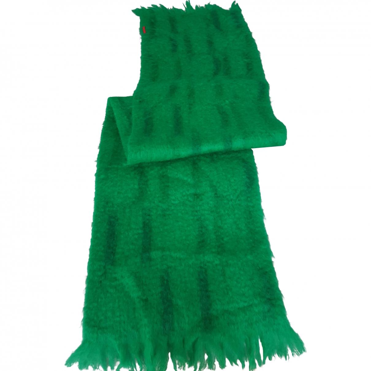 Carolina Herrera - Foulard   pour femme en laine - vert