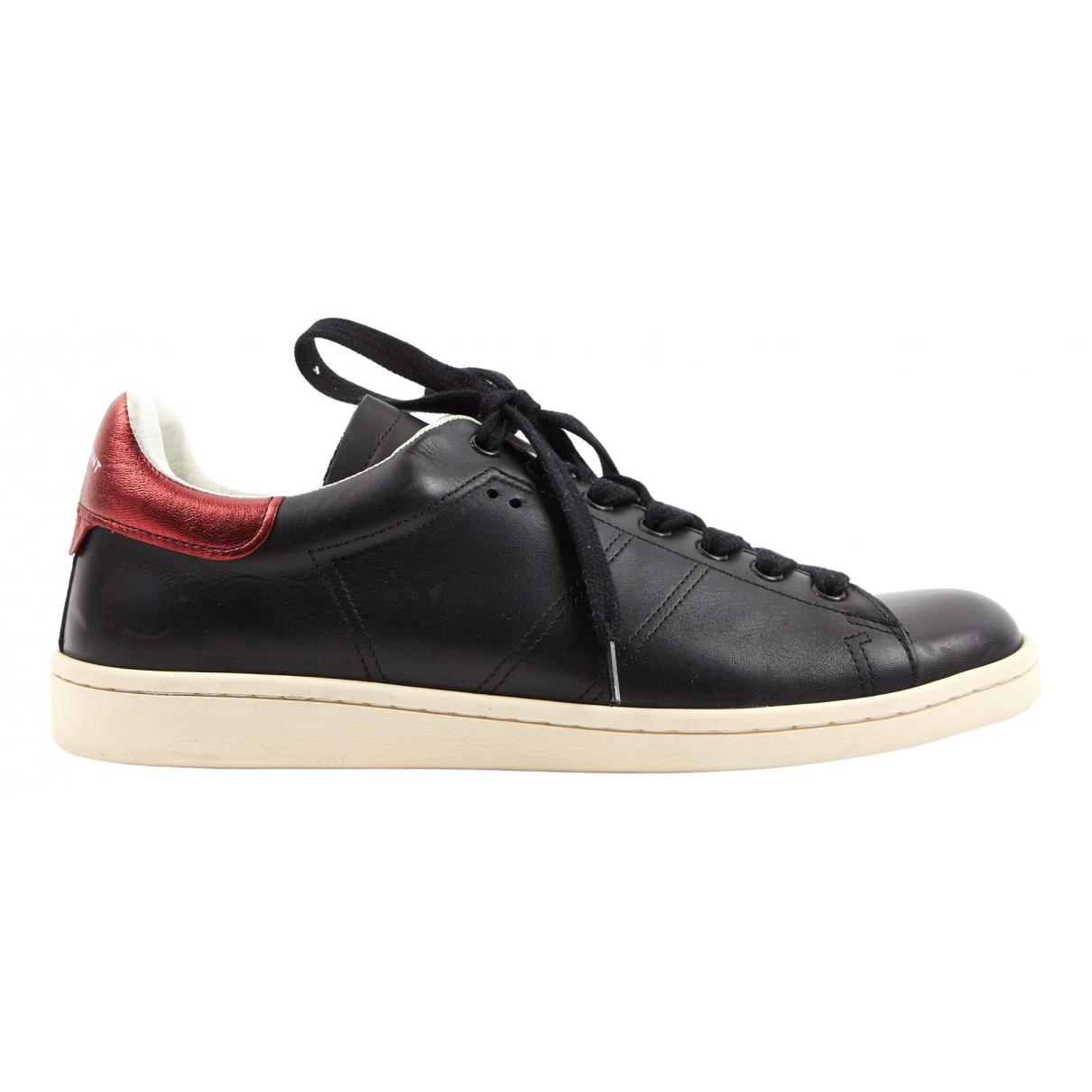Isabel Marant Etoile \N Sneakers in  Schwarz Leder