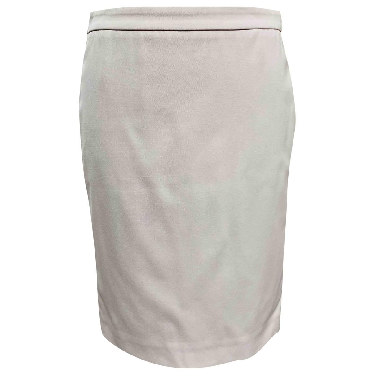 Salvatore Ferragamo \N Pink Cotton - elasthane skirt for Women 38 IT