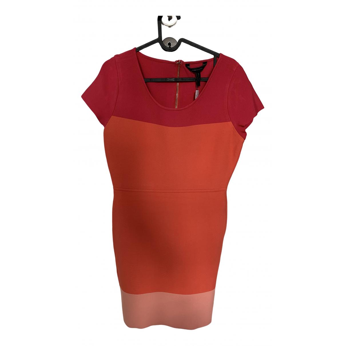 Bcbg Max Azria \N Kleid in  Rosa Viskose