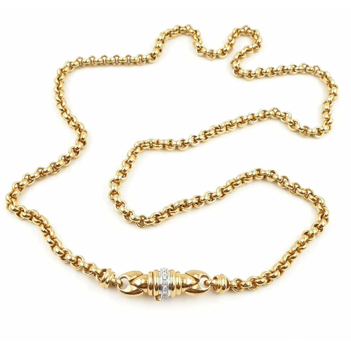 Non Signé / Unsigned Chaînes Gold Yellow gold Long necklace for Women \N