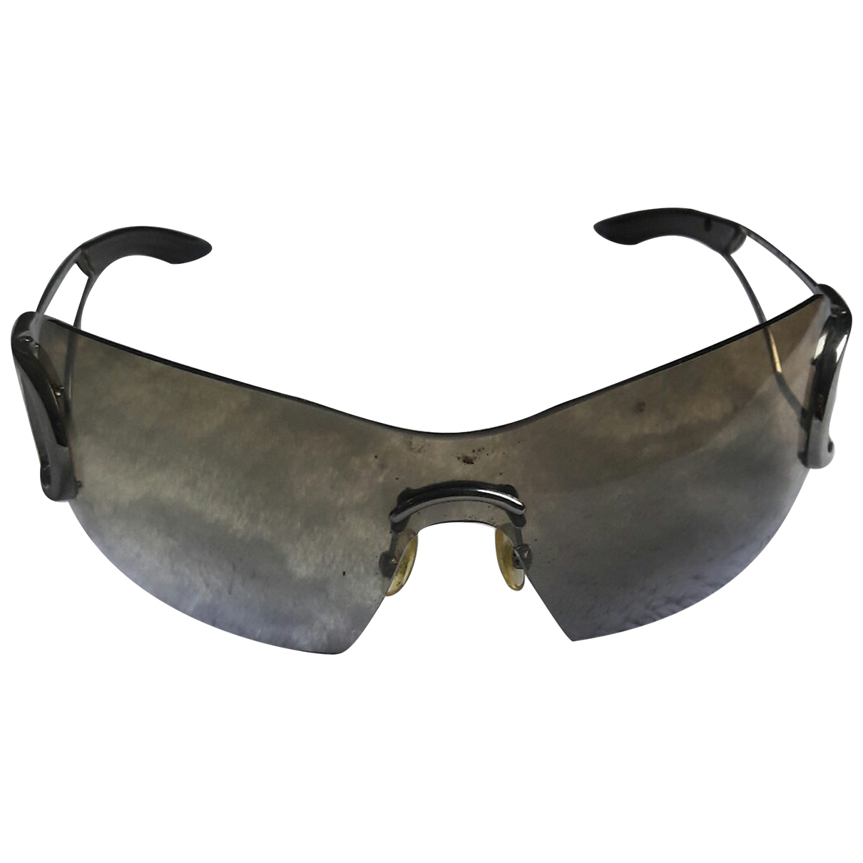 Dior \N Silver Metal Sunglasses for Women \N
