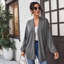 Cardigans Liso Casual